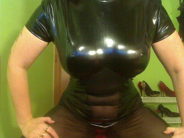 Lack Outfit - Sex muschi Dildo
