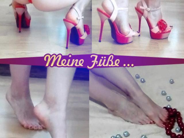 Meine Füße ... (ohne Ton)