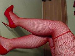 Sexy Dessous - Heels - Dildo