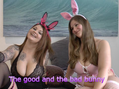 The good and the bad bunny