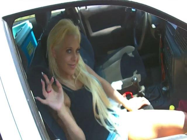 Blasen in dem Autofenster