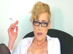 Feuchte Zigarettenpause
