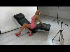 Sexy Dicke Titten Modell von Fotograf gefickt