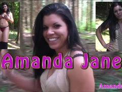 Amanda Jane im Wald geil gefickt