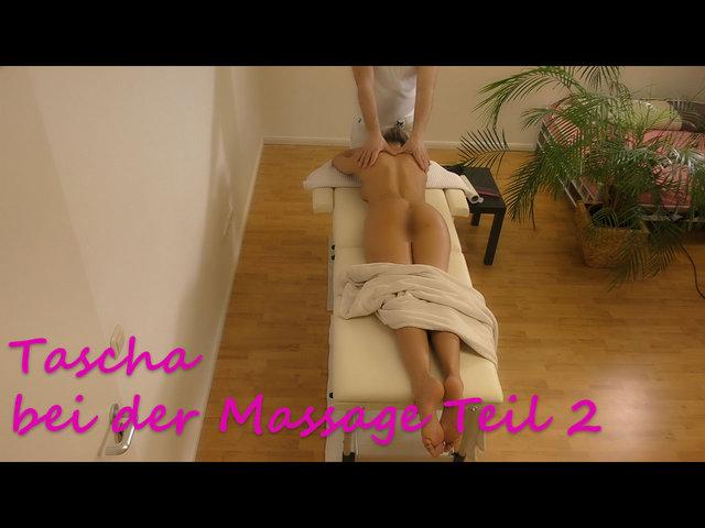 Tascha bei der Massage Teil 2