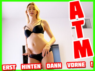 Ass to Mouth! Blank Anal gefickt & geblasen! | Anny Aurora