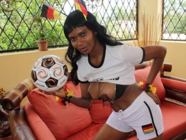 Fußball-WM mit Schokobebe Teil1