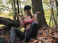 Dianas Wixvorlage im Herbst-Wald