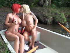 Versaute Bootstour bis zum Höhepunkt!!!