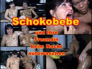 Nacktautowäsche von Schokobebe und Ehehure Angi