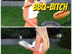 BBQ BITCH - Her mit der WURST! (barfuß)