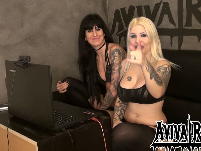 Best of Camshow mit AdrianaDark