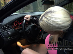 Car Stucking with Sock -Wunschlclip-