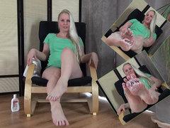 Erotische Fußmassage :)